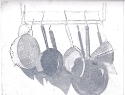 Pots and Pans, 22x17cm, £80 unframed