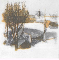 Winter, 12x13cm, £80 unframed